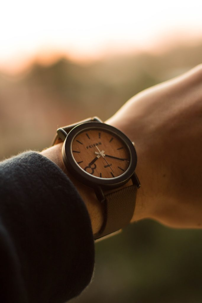montre en nature moment ideal trouver ikigai